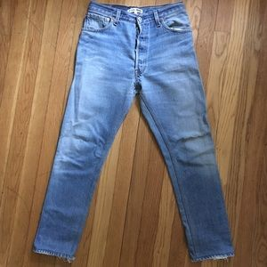 Re/Done High Rise Skinny Size 26